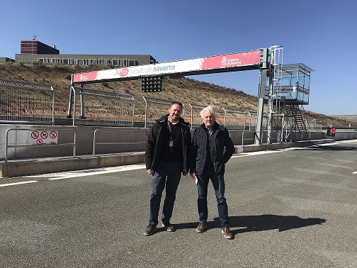 Visita Charlie Whiting BAJA RES