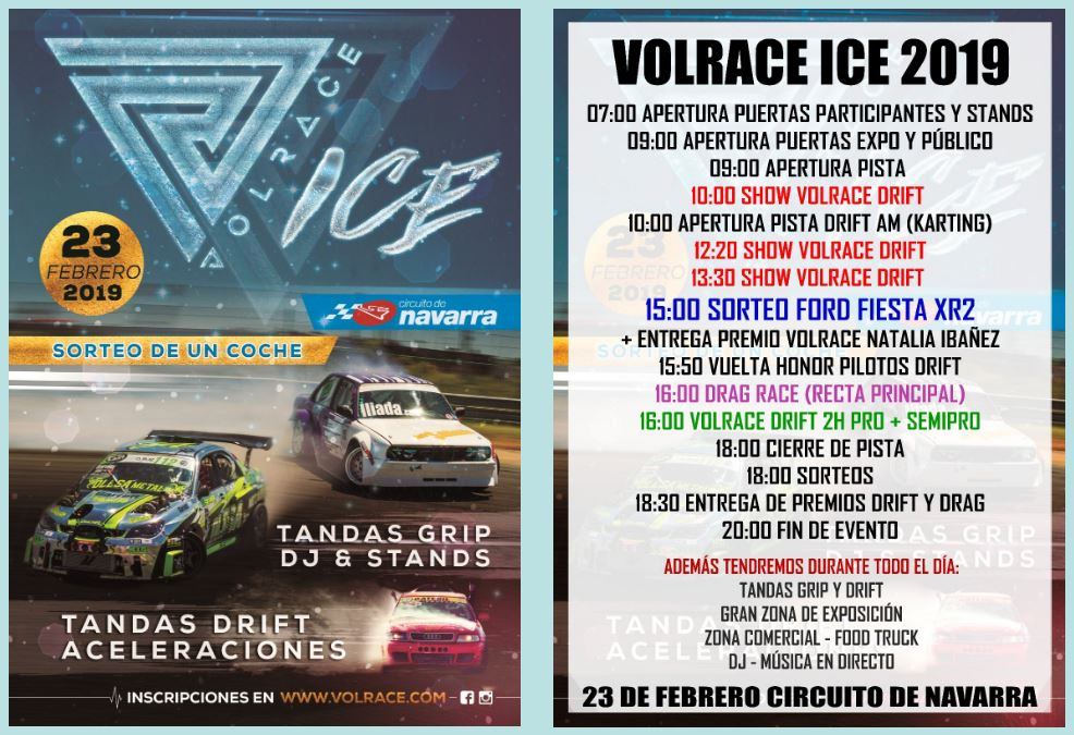 VolRace on ice